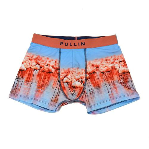 PULLIN【プーリン/プルイン】プリントアンダーウェア 下着 BOXER polyester lycra printed MAS-CAMARGUE(ポリエステル ライクラ プリント)